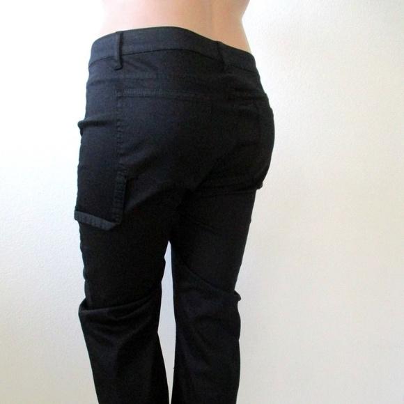 Lane Bryant Pants Plus Size 14//16 Black Pull On Inseam 29 NWOT